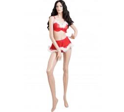 Sexy Shop Online I Trasgressivi - Costume Di Natale - Top e Minigonna
