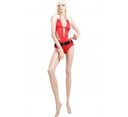 Sexy Shop Online I Trasgressivi - Natale Donna - Costume da Bagno Natalizio Rosso
