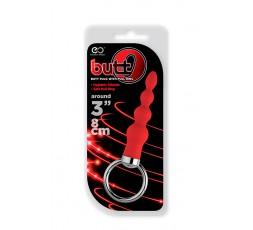Sexy Shop Online I Trasgressivi - Plug Anale Classico - Butt O 3 Inch Butt Plug Red - Excellent Power
