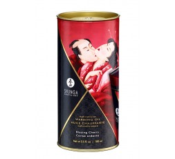 Sexy Shop Online I Trasgressivi - Olio Per Massaggi - Aphrodisiac Oil Blazing Cherry - Shunga