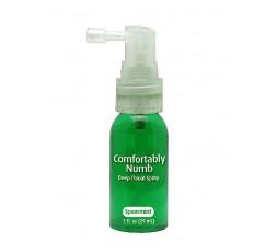 Spray Desensibilizzante Orale Menta Verde Comfortably Numb Deep Throat Spray Spearmint 29 ml - Pipedream