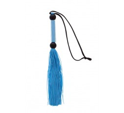 Sexy Shop Online I Trasgressivi - Fruste e Paddle - Blue Silicone Flogger Whip - Guilty Pleasure - Guilty Pleasure