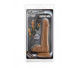 Sexy Shop Online I Trasgressivi - Fallo Realistico Dildo - Loverboy Captain Mike Mocha - Blush Novelties