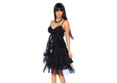 Abito Sexy - Cocktail Dress Nero
