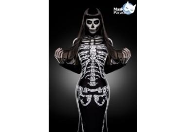 Carnevale Donna - Skeleton Lady - Mask Paradise