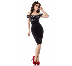Sexy Shop Online I Trasgressivi Abito Sexy - Vintage Pencil Dress Nero - Belsira