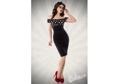 Abito Sexy - Vintage Pencil Dress Nero - Belsira