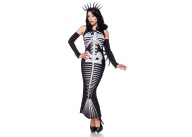 Carnevale Donna - Special Item Skeleton Mermaid