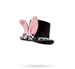 Sexy Shop Online I Trasgressivi - Accessorio Per Carnevale - Cappello con Orecchie da Coniglio