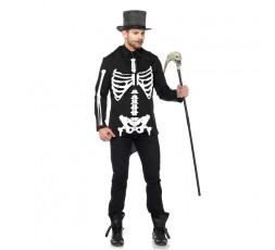 Sexy Shop Online I Trasgressivi - Carnevale Uomo - Costume Da Scheletro - Leg Avenue