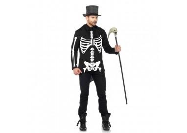 Carnevale Uomo - Costume Da Scheletro - Leg Avenue