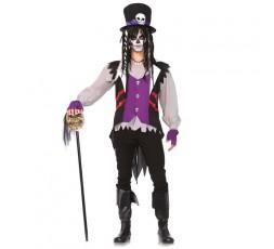 Sexy Shop Online I Trasgressivi - Carnevale Uomo - Costume da Prete Voodoo - Leg Avenue