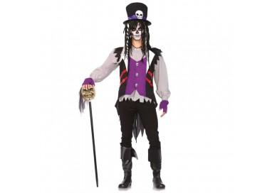 Carnevale Uomo - Costume da Prete Voodoo - Leg Avenue