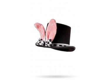 Accessorio Per Carnevale Unisex - Cappello con Orecchie da Coniglio