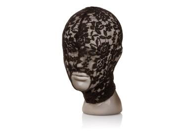 Accessorio Per Carnevale - Scandal Lace Hood Black - California Exotics