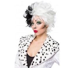 Sexy Shop Online I Trasgressivi - Parrucca - Cruel Lady Wig Dalmatian Wig - Mask Paradise