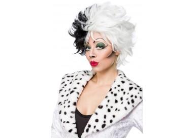 Parrucca - Cruel Lady Wig Dalmatian Wig - Mask Paradise