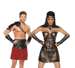 Sexy Shop Online I Trasgressivi - Carnevale Coppia - Costume da Gladiatori