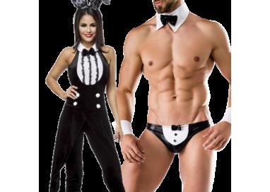 Il consiglio del giorno: Carnevale Coppia - Costume Da Coniglietta & Da Maggiordomo Sexy