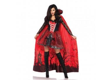 Carnevale Donna - Mantello Da Vampira - Leg Avenue