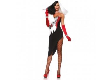 Il consiglio del giorno: Carnevale Donna - Costume Da Diva Crudelia - Leg Avenue