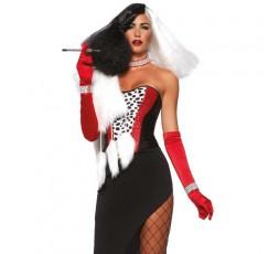 Sexy Shop Online I Trasgressivi - Carnevale Donna - Costume Da Diva Crudelia - Leg Avenue