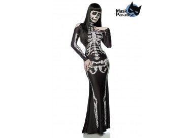 Il consiglio del giorno: Halloween Donna - Costume da Skeleton Lady - Mask Paradise