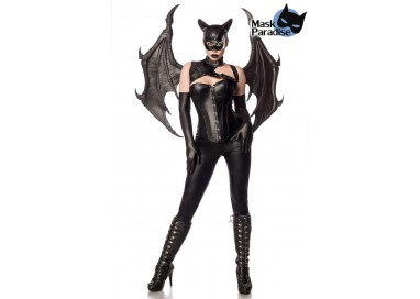 Halloween Donna - Costume da Bat Girl Fighter - Mask Paradise