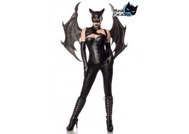 Il consiglio del giorno: Halloween Donna - Costume da Bat Girl Fighter - Mask Paradise