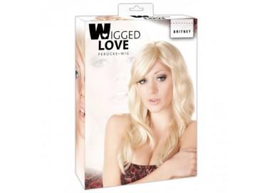 Parrucca Unisex - Britney Morbidi Capelli Biondi - Orion