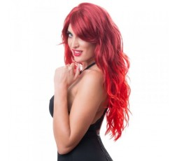 Sexy Shop Online I Trasgressivi - Parrucca Unisex - Wig, Red, Wavy and Long - Orion