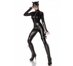 Sexy Shop Online I Trasgressivi - Carnevale Donna - Costume da Sexy Cat Fighter - Mask Paradise