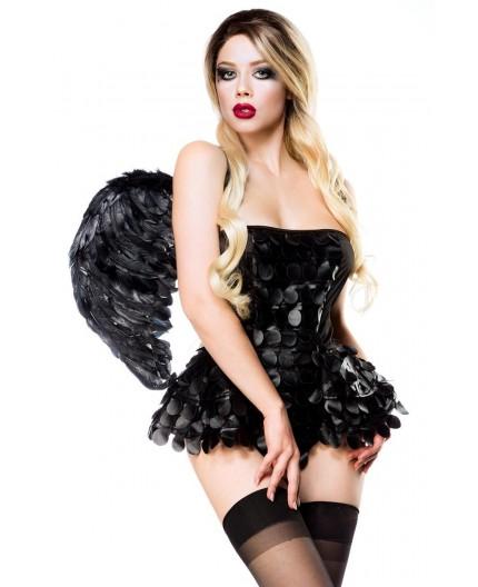 Sexy Shop Online I Trasgressivi - Halloween Donna - Costume da Black Angel