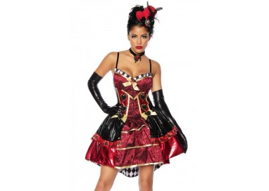 Carnevale Donna - Red Queen Costume