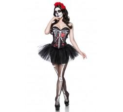 Sexy Shop Online I Trasgressivi - Carnevale Donna - Costume da Skull Senorita - Mask Paradise