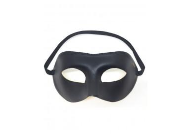 Accessorio Per Carnevale Unisex - Maschera Nera Adjustable Mask - Dorcel