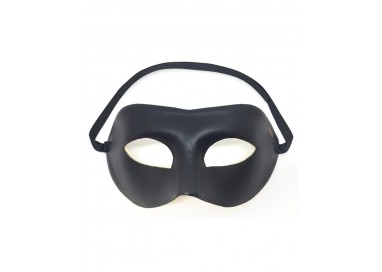 Accessorio Per Halloween Unisex - Maschera Nera Adjustable Mask - Dorcel