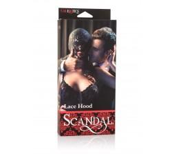 Sexy Shop Online I Trasgressivi - Accessorio Per Carnevale Unisex - Scandal Lace Hood Black - California Exotics