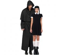 Sexy Shop Online I Trasgressivi - Carnevale Coppia - Costume da Gothic Darling & Mantello Da Monaco - Leg Avenue