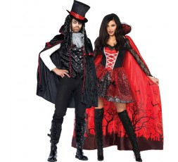 Sexy Shop Online I Trasgressivi - Carnevale Coppia - Mantello Da Vampira & Costume Da Vampiro Sexy