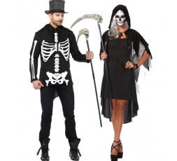 Sexy Shop Online I Trasgressivi - Carnevale Coppia - Costume Da Scheletro & Da Phantom Velvet