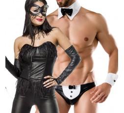 Sexy Shop Online I Trasgressivi - Carnevale Coppia - Bunny Costume & Costume da Maggiordomo Sexy