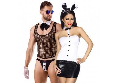 Carnevale Coppia - Costume Sexy Da Coniglietta & Butler Costume Man Roleplay