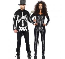 Sexy Shop Online I Trasgressivi - Carnevale Coppia - Costume da Scheletro