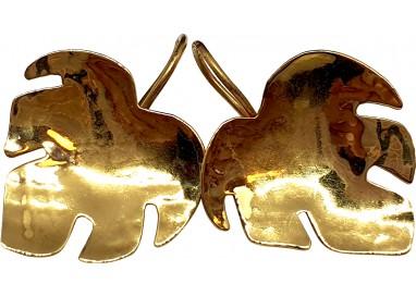 Bigiotteria Uomo - Orecchini Foglia