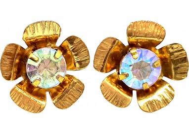 Bigiotteria Uomo - Orecchino Fiore con Diamante