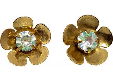 Bigiotteria Uomo - Orecchino Fiore con Diamantino