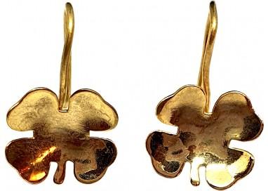 Bigiotteria Donna - Orecchino Quadrifoglio Pendente
