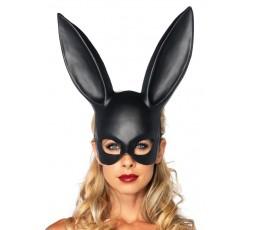 Sexy Shop Online I Trasgressivi - Accessorio Per Carnevale - Masquerade Rabbit Mask Black - Leg Avenue