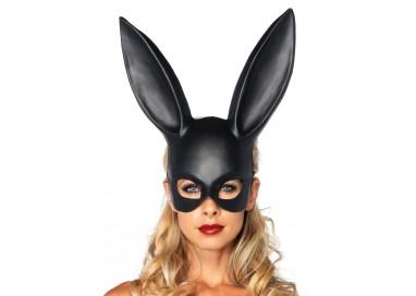 Accessorio Per Carnevale - Masquerade Rabbit Mask Black - Leg Avenue